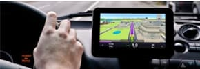 Prices for GPS navigation, photo